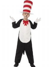 Childs Dr. Seuss Cat In The Hat Costume
